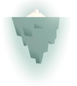 Vârful iceberg-ului