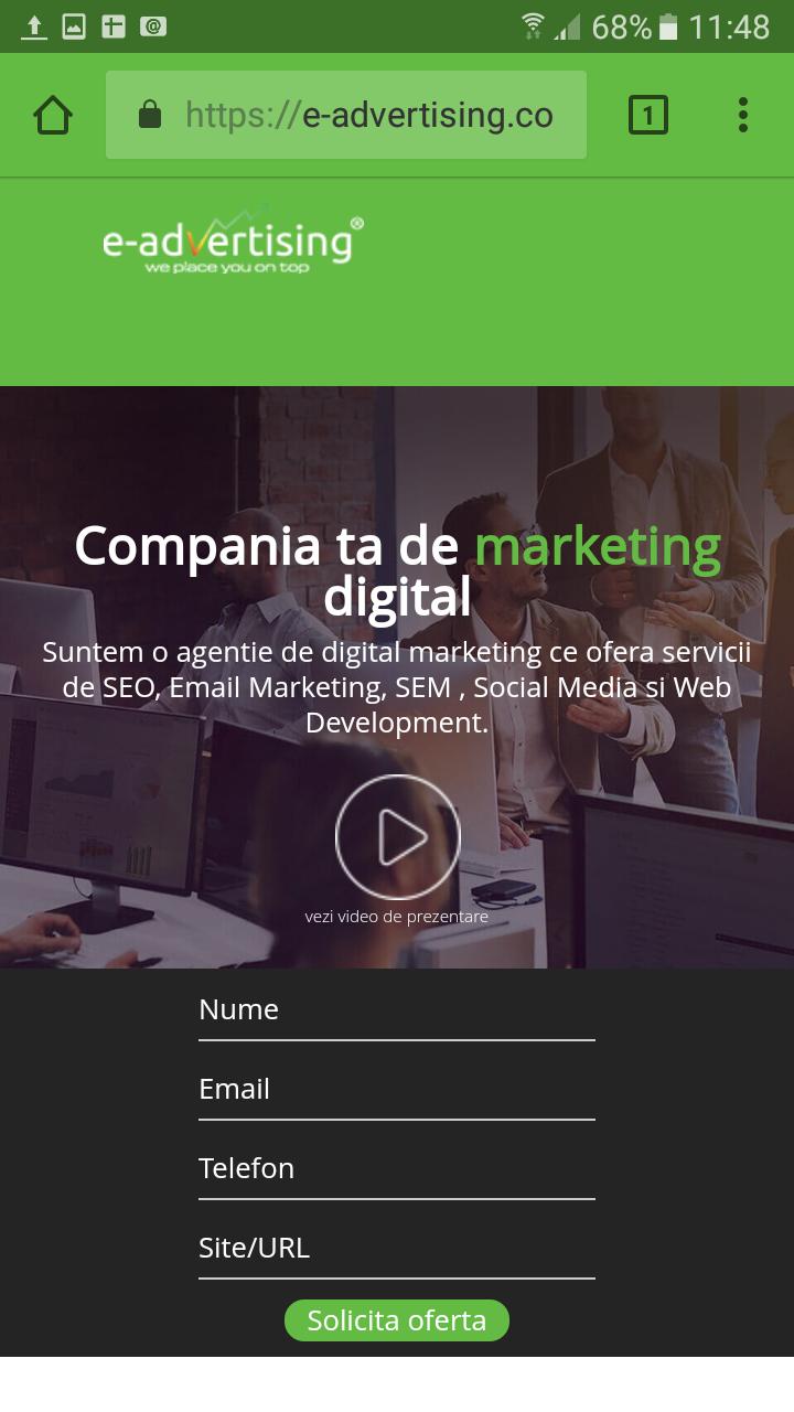 e-advertising mobile